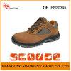 Sapatas de segurança de aço de couro de Deltaplus do dedo do pé de Nubuck