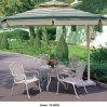 Jardin de salle à manger les loisirs de plein air en aluminium table de patio