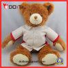 PV 긴 견면 벨벳 백색 셔츠 견면 벨벳 장난감 장난감 곰