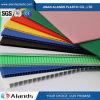 Folha material dos PP Coroplastic da folha colorida dos PP da cavidade