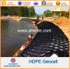 HDPE di plastica perforato a trama liscia Geocell per il muro di sostegno