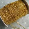 Цепь цвета золота декоративная латунная