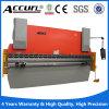 Bremse der hydraulischen Druckerei-Wc67y/K-125t/3200, Bildschirmanzeige-verbiegende Maschine