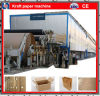 Cylinder Mould Type Waste Paper Recycling Carton Box Paper Making Machinery (2400/150)