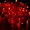 luz decorativa da corda do diodo emissor de luz do Natal dos bulbos 10m 50 para a decoração Home do casamento do partido de jardim