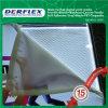 Alumínio da caixa leve/caixa leve Backlit matéria têxtil