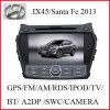 뒷 전망 사진기 (K-907)를 가진 Hyundai 산타페이 2013/IX45를 위한 차 DVD GPS 항법