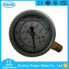 63mm Manometer van de Maat van de Druk van 2.5 Duim de Vloeistof Gevulde