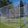 Eslabones de cadena de malla de alambre galvanizado/valla para servicio pesado Kennel jaulas