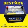 Bateria de carro Mf de armazenamento de ácido de chumbo / Bateria de carro auto 12V60ah-N50zlmf (BCI-24R)