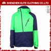 Куртки Snowboard лыжи пальто зимы зеленого цвета известки термально (ELTSNBJI-47)