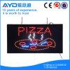 Rectángulo de protección del medio ambiente Hidly Pizza SEÑAL LED