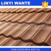 Красочный строительных материалов с покрытием из камня металлические листа крыши