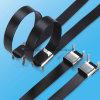 크기 Ss PVC L 버클 클립을%s 가진 입히는 케이블 동점의 종류