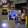 Proyector amonestador del LED del trabajo de la carretilla elevadora azul de la luz para los carros de Toyota