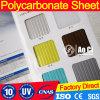 Пластичный лист полости Втройне-Стены поликарбоната строительного материала листа толя
