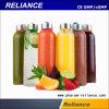 Zumo de vidrio automática de Bebidas Máquina Tapadora de llenado de botellas redondas