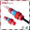 Conetores impermeáveis da fibra óptica
