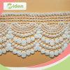 Kleid-Zubehör, die Spitze-Stickerei-bräutliche französische chemische Baumwollspitze trimmen