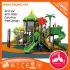 Развлечения для детей игровая площадка на открытом воздухе пластика оборудование слайд