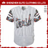 Costume de Jersey do basebol do poliéster do Sublimation do clube