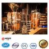 Bière de cuivre rouge de métier de Pub de la brasserie 1000L faisant le matériel