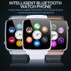Androide Bluetooth intelligente Großhandelsuhr mit SIM Einbauschlitz X6
