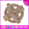 Novo e Popular Wooden Intelligence Toy para Kids, Wooden Toy Intelligence Toy para Children, Wooden Iq Toy para Baby W03b018