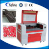 Máquina de gravura de borracha acrílica de couro em borracha CNC Laser Cutter