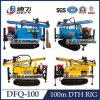 DTH Hammer Dfq-100の携帯用Full Hydraulic Water Wagon Drill