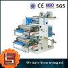 Machine d'impression en plastique à grande vitesse de Flexo de sac à provisions Ytb-21000 2-Color