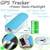 Energien-Bank Mini-GPS Tracekr mit Flashlighting u. Geo-Zaun (V20)