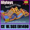 Parque de diversões novo Inflatable Slides de Big da cidade de Giant Inflatable Fun para Kids (J-Fun City-02)
