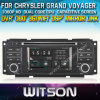 Reproductor de DVD de Witson Car para Chrysler Grand Voyager con el Internet DVR Support de la ROM WiFi 3G del chipset 1080P 8g