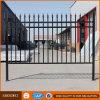Dekoratives Puder-überzogener industrieller Stahlpfosten-Zaun