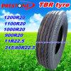 11r22.5, 315/80r22.5 Tubeless Steel Radial Truck Tyre/Tyres, TBR Tire/Tires mit Rib Smooth Pattern für High Way oder Steer (R22.5)