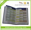 Organizador de la oficina/cuaderno coloridos de cuero (QBN-58)