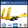 Personalizzato 30-80 tonnellate del camion di rimorchio semi basso della base