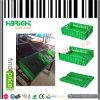 Grüne Farben-faltbarer Plastikkasten für Obst und Gemüse