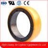 Qualitäts-China-Polyurethan-Handhydraulischer Gabelstapler dreht Rad-Fußrolle