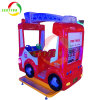 Macchina del gioco dell'automobile dell'oscillazione del camion dei vigili del fuoco della strumentazione del parco a tema per i bambini
