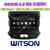 Grand écran 9 Witson Android 6.0 DVD de voiture pour Mitsubishi Outlander 2006-2012