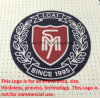 Silicone HEAT Transfer Printing Logo Widely Used for Garments