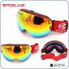 El bastidor de la miopía gafas Gafas de esquí de lente intercambiable personalizado gafas de esquí