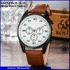 Orologio classico su ordinazione del quarzo della cinghia di cuoio delle signore (WY-P17014A)