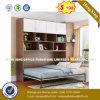 이탈리아 현대 작풍 침실 가구 단단한 나무 침대 (hx-8nr0881)