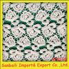 Tessuto di cotone di alta qualità del ricamo