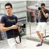 Les hommes chauds de qualité de vente d'été amincissent le plus défunt T-shirt modèle de modèle de Spandex bleu en bonne santé de coton (TYA-MT-1362)