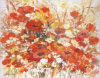 유화 꽃 (F014)