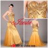 Vestido de noite bordado Strapless frisado (6156)